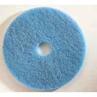 "BLUE, SCRUBBING (NYLON)  11"" Pad, 3"" Hole (5)"