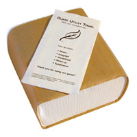 "DISPOSABLE GUEST UTILITY TOWEL 8"" x 17"" Packed 1000"