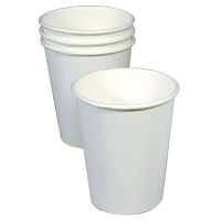 WHITE PAPER CUPS  8 oz - 1000