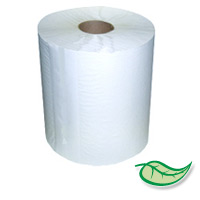"ACTIVA® 100% RECYCLED 7.9"" ROLL PAPER HAND TOWELS White 12/350' Restroom type; not kitchen!"
