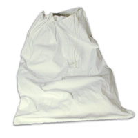 "CLOTH DRAWCORD LAUNDRY BAGS 30"" x 45"" - Off-white"