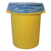 """DURA-STUFF® COLORED LLDP TRASH CONTAINER LINERS Blue 33""""x40"""" Heavy Duty (100)"""