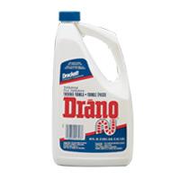 THICKENED DRANO MAX GEL LIQUID DRAIN OPENER 12/32 oz bottles
