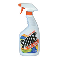 SHOUT LAUNDRY STAIN REMOVER  Trigger Spray, Packed 12/22 oz.