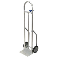"800-POUND-CAPACITY PIN HANDLE ALL PURPOSE HAND TRUCK 17.5x55"" truck with 8"" wheels"