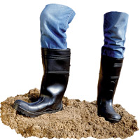 GENERAL PURPOSE PVC BOOTS  Large size