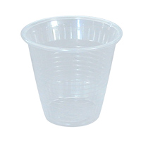 CONEX GALAXY PLASTIC SQUAT BEVERAGE CUP 5 oz, Translucent, Packed 2500