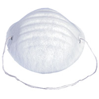 DUST MASKS - CONE SHAPE  Lightweight and Smooth Packed 50