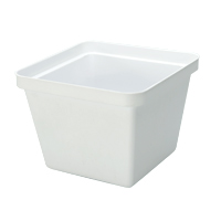 INSULATING SQUARE ICE BUCKET LINER 3 qt, White, Packed 1 each