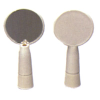 """Polystyrene Light-Up Inspection Mirror Inspects Toilets and Urinals For Cleanliness - 2.5""""W x 4""""H..."""