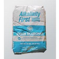 TOTAL ALKALINITY CONTROL- SODIUM BICARBONATE Total Alkalinty Increaser 50 lb sack