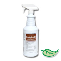 EVOLUT-ION TAB ODOR NEUTRALIZER Concentrated Carpet Odor Neutralizer Packed 6/1 quarts