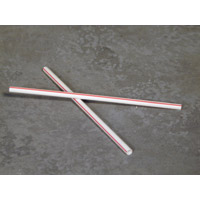 WRAPPED FLEXIBLE STRAWS  For cold use. Packed 500.