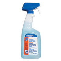 SPIC AND SPAN® DISINFECTING PURPOSE SPRAY AND GLASS CLEANER Ready-to-Use, Packed 8/32 oz spray bottles