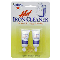 FAULTLESS IRON CLEANER  Non-abrasive formula, Non- Flammable, and Non-toxic