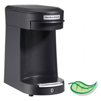 HAMILTON BEACH COMMERCIAL 1 CUP POD BREWING SYSTEM Black