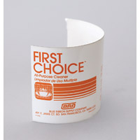 LABEL ONLY - FOR FIRST CHOICE SPRAY BOTTLES Self Adhesive