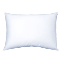 "T180 ZIPPERED PILLOW PROTECTORS WHITE COTTON/POLYESTER BLEND Standard 20""x26"""