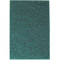 "MEDIUM DUTY SCOURING PADS  Green 6x9"" medium-duty pad"