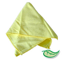"MICROFIBER MAGIC CLEANING TOWELS YELLOW 16""x16"" Sold Individually"