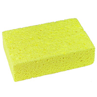 "NATURAL CELLULOSE SPONGES  Sold in a pack of two 3.5 x 6 x 1"" sponge"