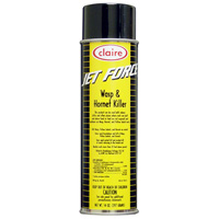 CLAIRE® JET FORCE WASP & HORNET INSECTICIDE SPRAY 12/20 oz aerosol cans