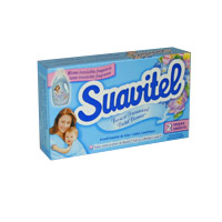 SUAVITEL SHEETS FABRIC SOFTENER VENDING BOXES (154) Each box contains 2 sheets