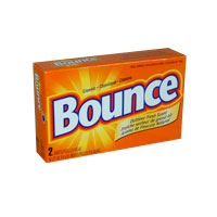 BOUNCE® FABRIC SOFTENER SHEE VENDING BOXES (156) 2 SHEETS/BOX