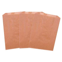 """LINERS FOR SANITARY NAPKIN RECEPTACLE 7.5""""x10""""x3.5"""" For Wall Mounted Unit packed 500ct"""