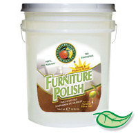 EARTH FRIENDLY FURNITURE POLISH  5 gallon container