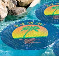 "SOLAR SUN RING CIRCULAR SPA COVER 60"" Diameter"