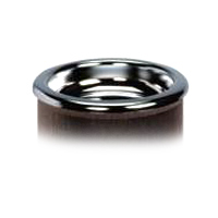 REPLACEMENT CHROME LID FOR ROUND SMOKE URN