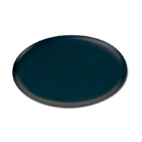 "OVAL TRAY  11 1/2"" x 15"", Black, Packed 1 each"
