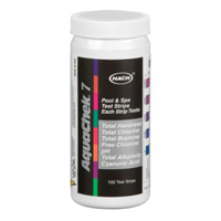 AQUACHECK TEST STRIPS SILVER 6 in 1