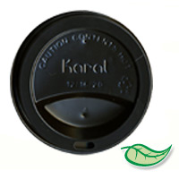 HOT CUP BLACK SIPPER LIDS  Lids For 12-24oz cups (1000)