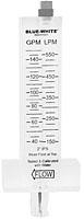"BLUE-WHITE FLOWMETER  2"" PVC Pipe 40 to 150 gpm"