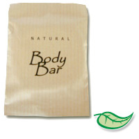 TERRA PURE ORGANIC BODY BAR SOAP 1.5 size sachet. Packed 300