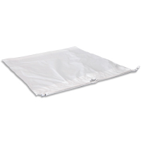 "PLASTIC LAUNDRY BAGS WITH PLASTIC DRAWTAPE 16"" x 18"" x 3"" (500)"