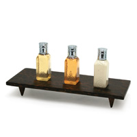 FIJI COLLECTION  Footed amenity tray 10 x 4 x 1.5, Packed 6 each