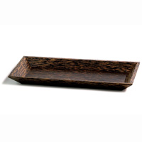 FIJI COLLECTION  Rectangular plate, 9 x 4.5 x 1, Packed 12 each