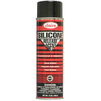 CLAIRE® SILICONE RELEASE AGENT Packed 12/12 oz aerosol cans. Weatherproof, all-purpose lube....