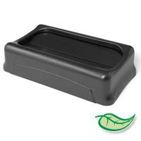 SLIM JIM® LIDS & ACCESSORIES FOR ALL SLIM JIM® CONTAINERS Gray Swing top lid 20.5x11.38x5""