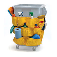BRUTE® DOLLY & CADDY ACCESSORIES FOR ROUND CONTAINERS 32/44gal Yellow caddy bag 20x20.5""