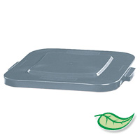 """BRUTE® 40 GALLON SQUARE LIDS AND TOPS Gray lid 24x2"""""""