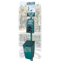 POLY DOGIPOT® PET STATION #1010 Green (1 each)