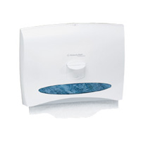 "KIMBERLY CLARK TOILET PERSONAL SEAT COVER DISPENSER White. 17.5""x7/8""."