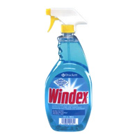 WINDEX READY-TO-USE WINDOW MIRROR AND GLASS CLEANER 12/32 oz trigger spray bottles