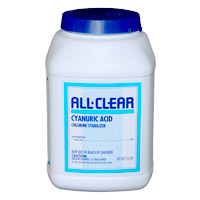 CYANURIC ACID ALL CLEAR Conditioner 10 lbs