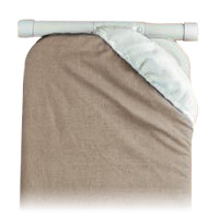 IRONING BOARD REPLACEMENT PAD  1-piece. Khaki color. Fiber construction.