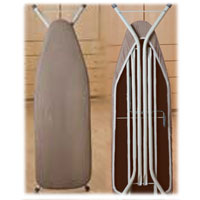 COMPACT IRONING BOARD WITH COVER TOAST 45x13""